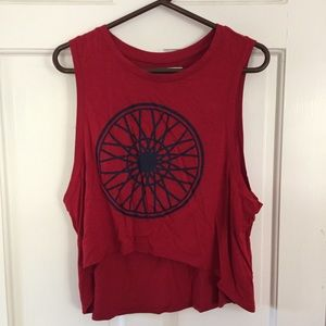 Soulcycle crop top